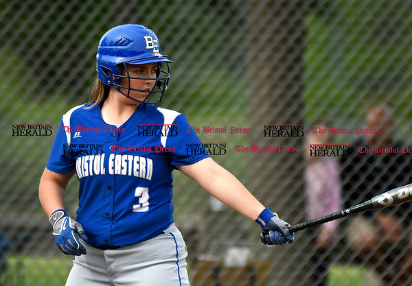 5/23/2017 Mike Orazzi | Staff Bristol Easterns Alyssa Hackling (3) Tuesday at Eastern.