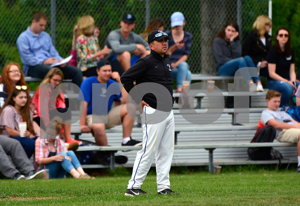 5/31/2017 Mike Orazzi | Staff St. Paul's Victor Rinaldi during the Class S Second Round Baseball game with Immaculate in Bristol Wednesday.