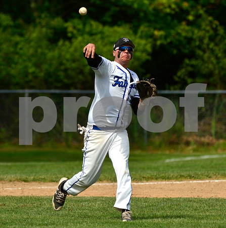 5/31/2017 Mike Orazzi | Staff St. Paul's Andrew Owsianko (10) during the Class S Second Round Baseball game with Immaculate in Bristol Wednesday.