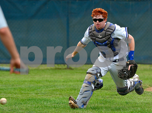 5/31/2017 Mike Orazzi | Staff St. Paul's Christopher Mills (16) during the Class S Second Round Baseball game with Immaculate in Bristol Wednesday.