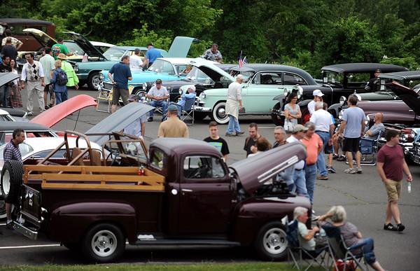 6/17/2017 Mike Orazzi | Staff The Klingberg Vintage Motorcar Festival in New Britain Saturday morning.