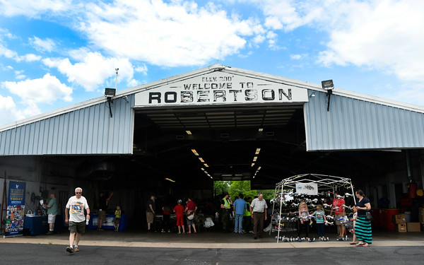 6/10/2017 Mike Orazzi | Staff The Wings and Wheels Festival at Robertson Airport in Plainville Saturday.