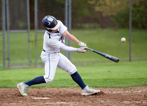 05/16/18 Wesley Bunnell   Staff Newington baseball defeated E.C. Goodwin Tech on Wednesday afternoon at Newington High School. Newington's Cooper Johnson.