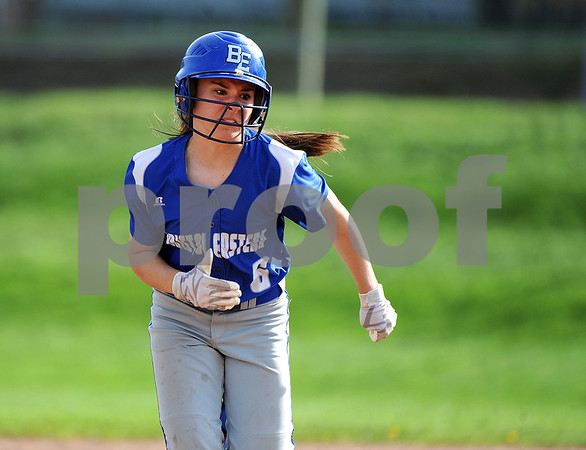 5/2/2018 Mike Orazzi | Staff Bristol Eastern's Taylor Keegan (6) during Wednesday's softball with Bristol Central at BE.