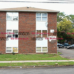 100316  Wesley Bunnell | Staff  100 West St in New Britain which was the scene of a recent drug raid.