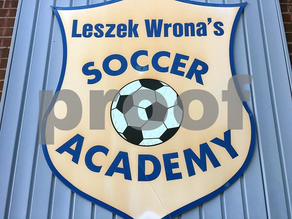 10/10/2017 James Drzewiecki | Staff Leszek Wrona's Soccer Academy in Bristol.