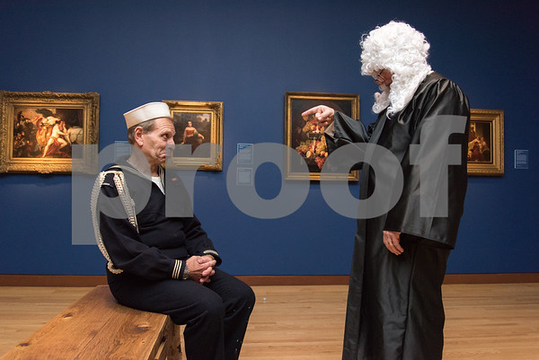 10/27/17 Wesley Bunnell | Staff The New Britain Museum of American Art held their Museum After Dark 11th Annual Halloween Bash on Friday evening. Sailor Mark Giulietti has sentence handed down by Judge Stephen Hard.