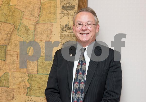 10/05/17 Wesley Bunnell | Staff New Britain Town Clerk Mark Bernacki.