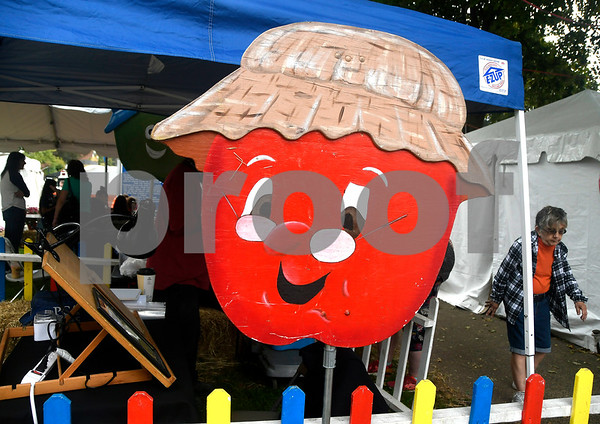 10/7/2017 Mike Orazzi | Staff The 49th Apple Harvest Festival in Southington Saturday.