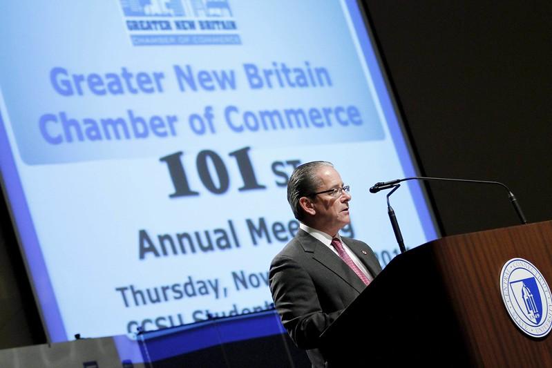 New Britain Chamber Tim Stewart
