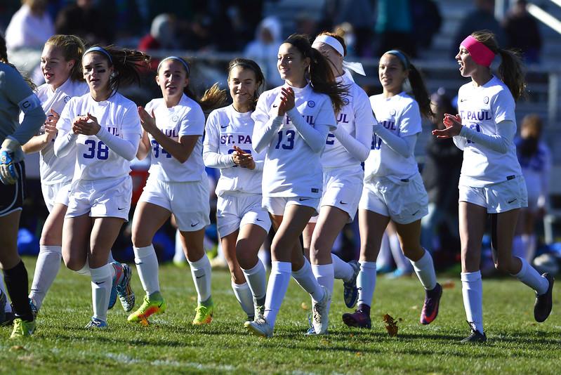 St. Paul girls soccer