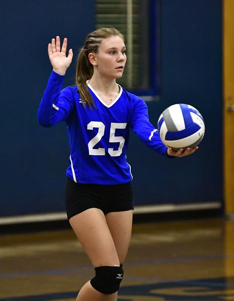 Bristol Eastern girls volleyball