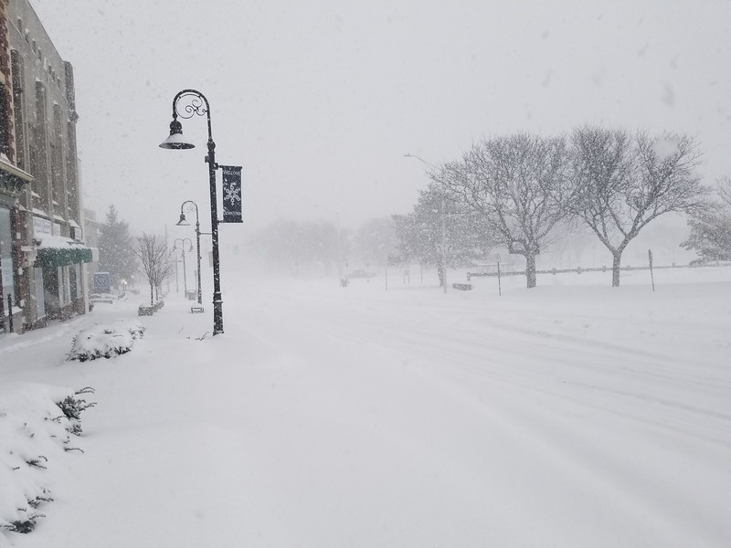 Bristol snowstorm