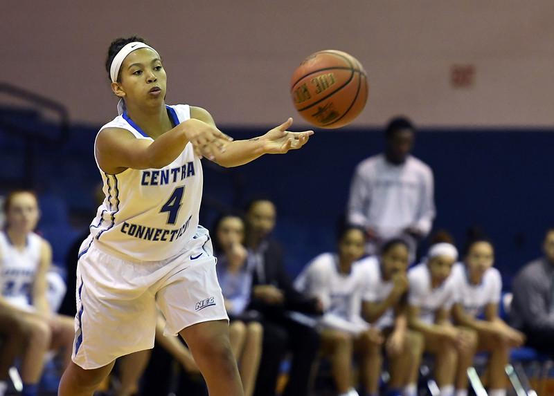 CCSU's Kiana Patterson 3-4
