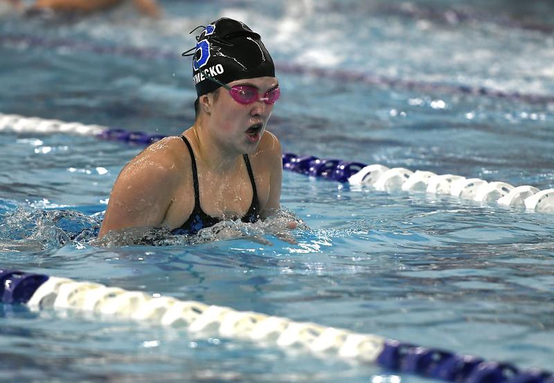 Southington girls swimming