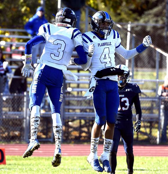 Plainville football 11-11