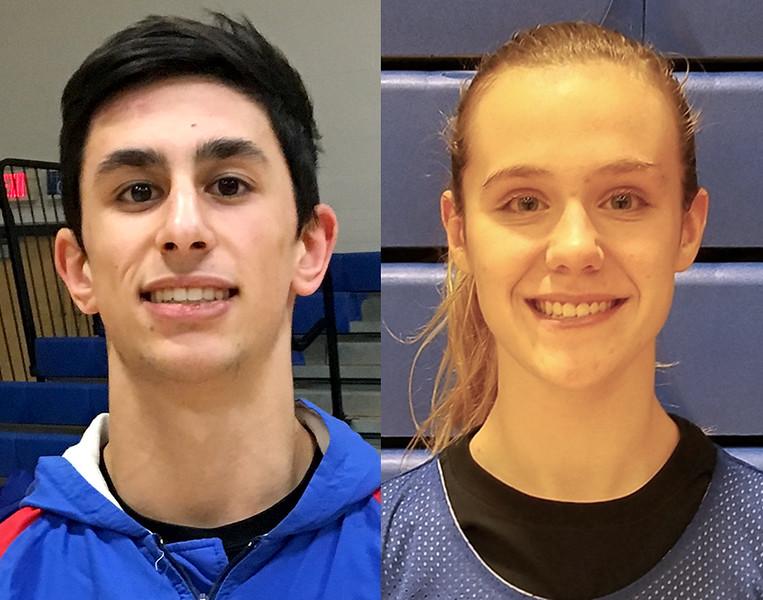 Dominic Pedrolini and Caitlin Barker