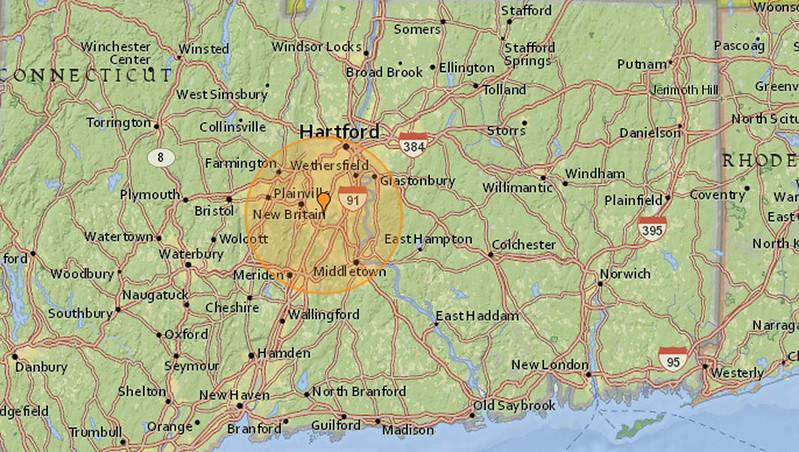 Earthquake in New Britain