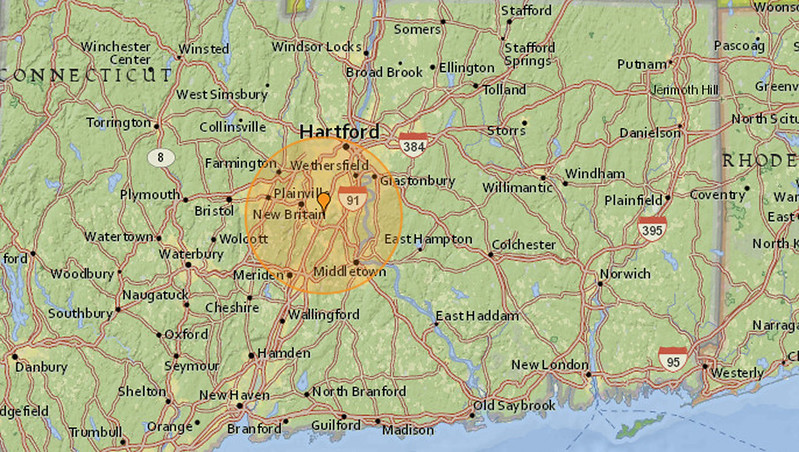 New Britain Herald Small earthquake hits New Britain and Kensington