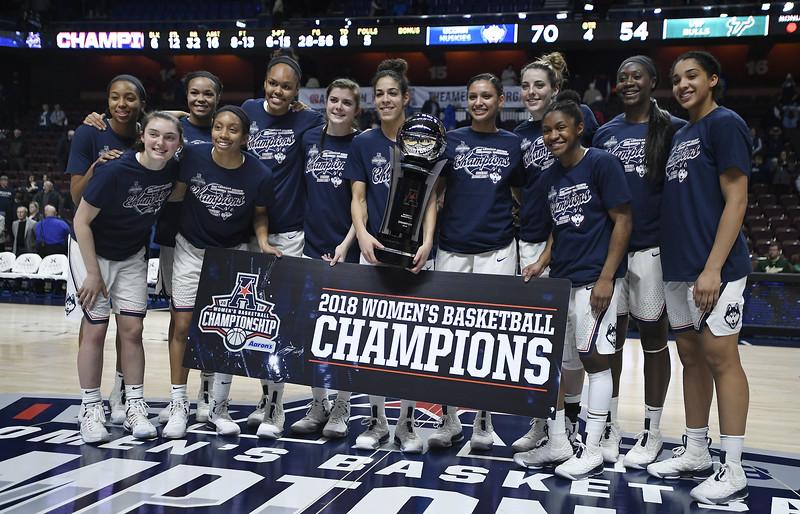 UConn women's basketball 3-12-18
