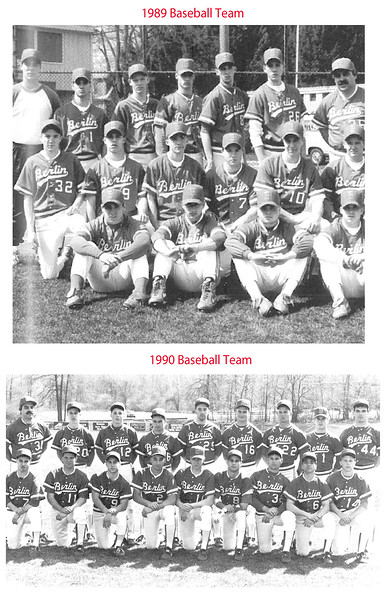1989, 1990 Berlin baseball team