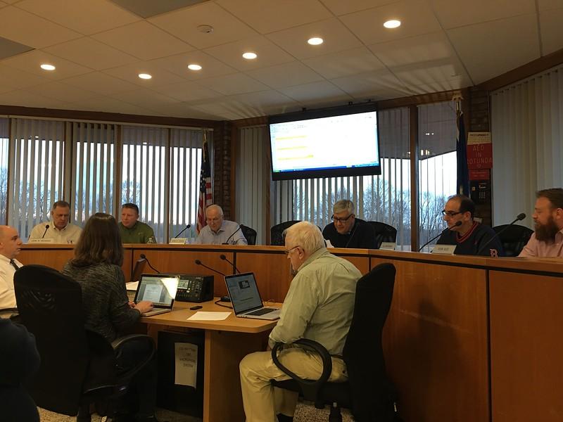 board of finance budget vote