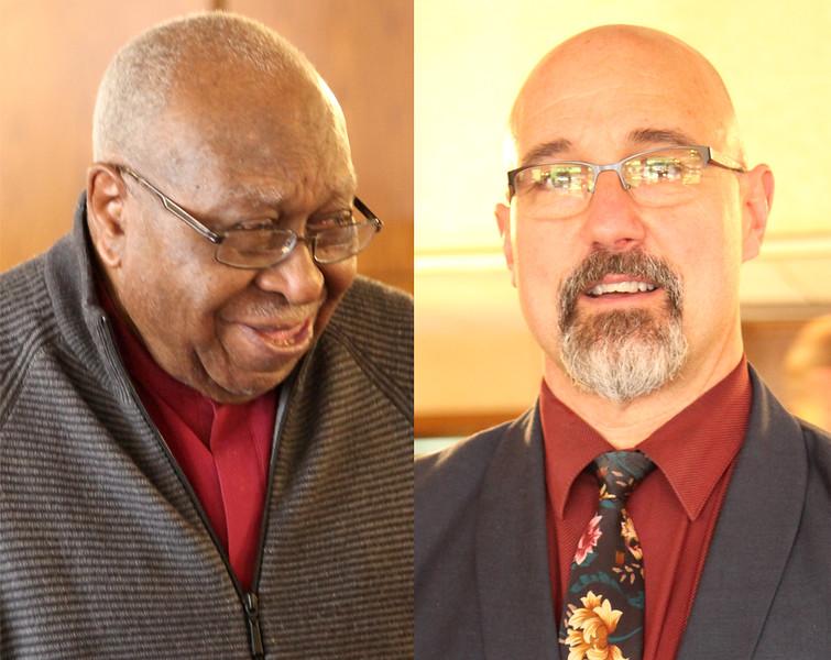 Alton Brooks and Kevin Urso