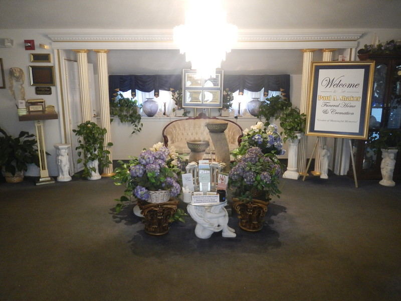 shaker funeral home