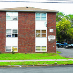 100316  Wesley Bunnell | Staff100 West St in New Britain which was the scene of a recent drug raid.