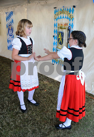 9/23/2017 Mike Orazzi   Staff Alpenland Dancers Children's Group Grace Libby Ella Barry during the St. Peter Church Oktoberfest in New Britain Saturday.