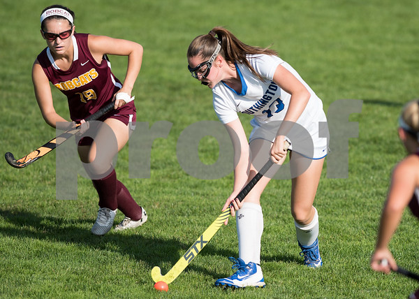 09/26/17 Wesley Bunnell | Staff South Windsor at Southington field hockey on Tuesday afternoon at Southington High School. Brooke Lynch (13).