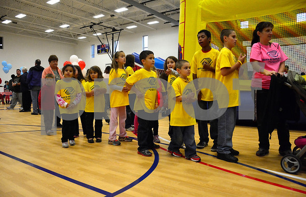 11/11/2014 Mike Orazzi | Staff Children inside the Bristol Boys & Girls Club's new facility at 255 West St. on Tuesday.