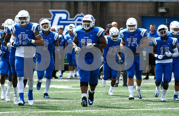 9/9/2017 Mike Orazzi | Staff CCSU during Saturday's game with Fordham in New Britain.