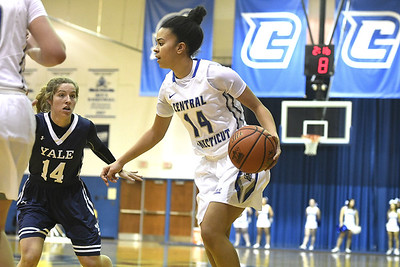 ccsu-womens-basketball-shows-spark-with-strong-second-half-in-its-loss-to-yale