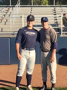 newington-high-graduates-ben-maycock-jack-hurley-participate-in-uconn-alumni-baseball-game