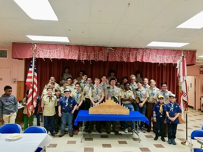 cub-scout-pack-322-enjoys-friendly-competition-of-pinewood-derby