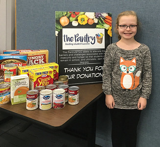 thirdgrader-donates-birthday-party-haul-to-tunxis-food-pantry