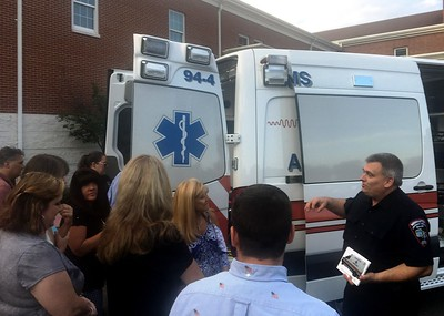 newington-ems-new-ambulance-pays-visit-to-town-hall