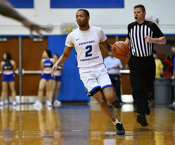 ccsu-mens-basketball-falls-to-merrimack-as-road-woes-continue