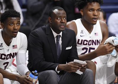 uconn-mens-basketball-assistant-coach-hunter-returns-from-medical-leave