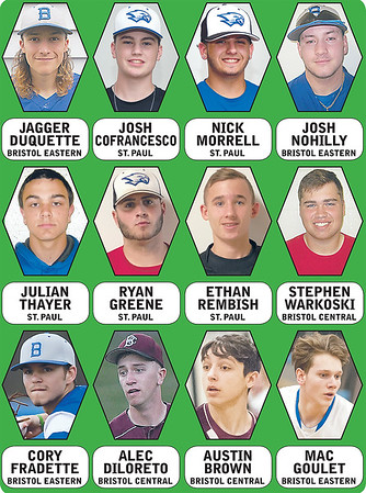 The Bristol Press All Press Baseball Team This Group Of 12 Turned In Star Seasons On The Diamond