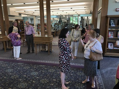 plainville-library-holds-open-house-to-introduce-new-director