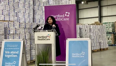 hartford-healthcare-opens-personal-protective-equipment-warehouse-in-newington