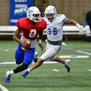 quarterback-remains-big-question-mark-while-defense-impresses-during-ccsu-footballs-annual-spring-game