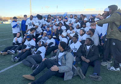 no-1819-ccsu-football-rolls-past-robert-morris-to-win-second-nec-championship-in-three-seasons-secure-spot-in-fcs-playoffs