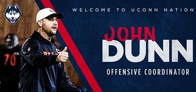 uconn-football-hires-former-chicago-bears-assistant-john-dunn-as-new-offensive-coordinator