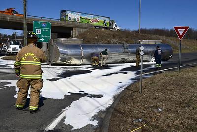 tanker-carrying-milk-rolls-over-in-plainville-spills-onto-road