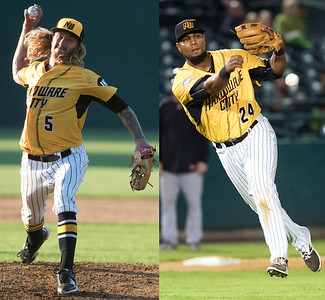 new-britain-bees-pitcher-mark-hamburger-third-baseman-deibinson-romero-selected-to-atlantic-leagues-alldefensive-team