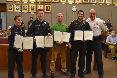 bristol-sergeant-recognized-for-work-apprehending-shooting-suspect-citizen-honored-for-helping-during-rescue