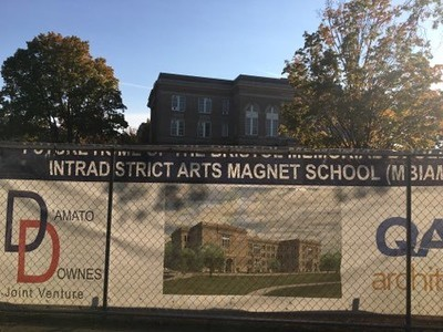 city-of-bristol-board-of-education-holding-beam-signing-ceremony-for-arts-magnet-school
